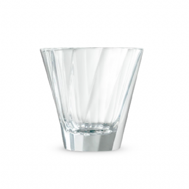 180ml Twisted Cappuccino Glass (Clear)